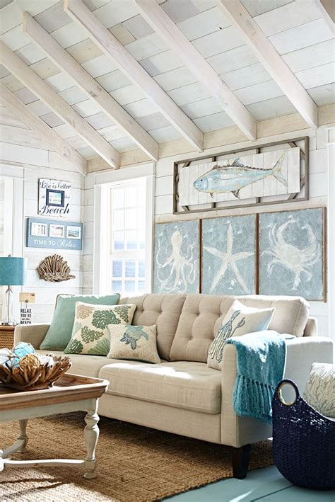 beach decorations for home best 25 beach living room ideas on pinterest coastal