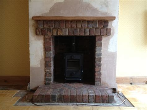 Brick Fireplace Images by Portfolio The Barn