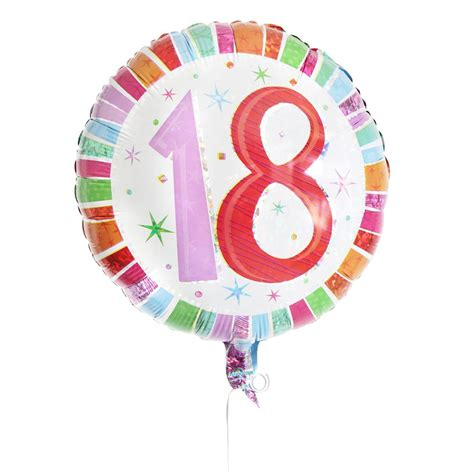 18th birthday balloons party favors ideas