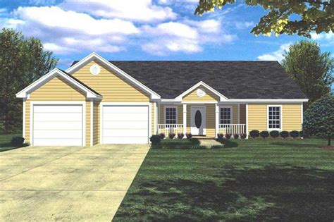 Ranch With Walkout Basement Floor Plans by Ranch House Plans Home Design 7823