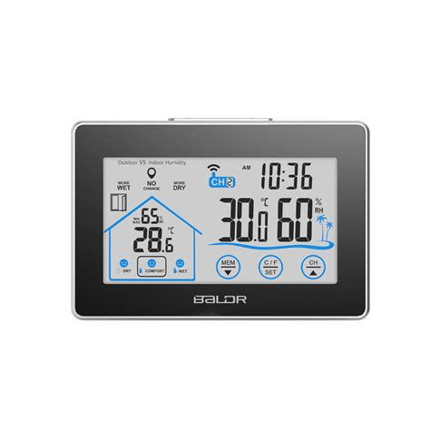 Digital Thermometer Hygrometer Clock Htc 1 240 741 buy wholesale weather station from china weather station wholesalers aliexpress