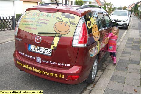 Autowerbung Kinder raffini kinderevents neue autowerbung raffini