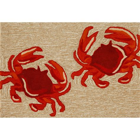 crab rug cape comfort at home with wayfair eat live