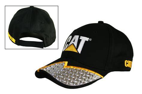 cat hats cat caps caterpillar cat diamond plate visor embroidered caps