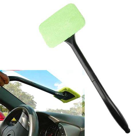 Automotive Glass Cleaning Wiper Pembersih Kaca car windshield glass cleaner wiper handle wand microfiber cloth alex nld