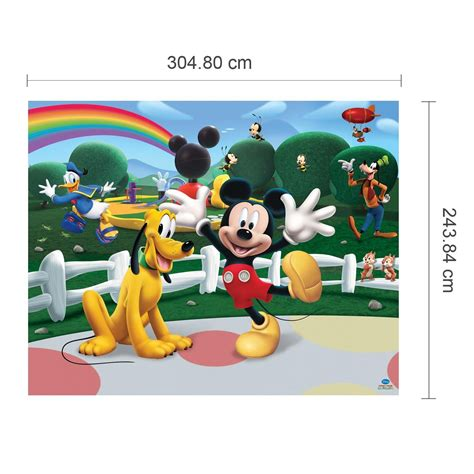 Mickey Mouse Uk 20 15 10 20 best collection of mickey mouse clubhouse wall