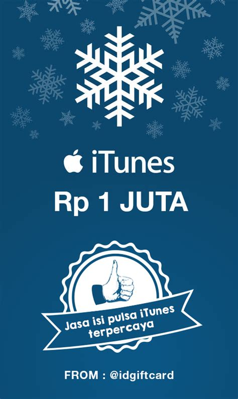 Itunes Gift Card Indonesia 500 000 itunes gift card 1 jt itunes gift card indonesia
