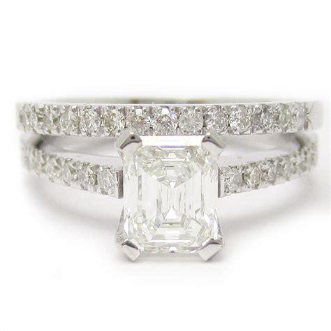 Wedding Rings Emerald Cut by Emerald Cut Wedding Rings Dress Wedding Eternity Jewelry