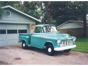 restored 55 chevy 3100 i can t drive 55