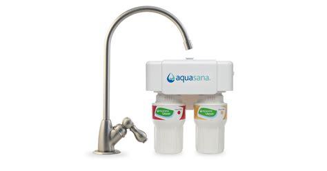 aquasana counter water filtration systems