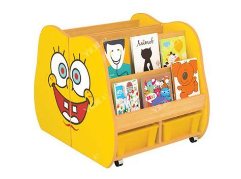 Lemari Plastik Kartun kecil lingkungan kayu plastik kabinet rak buku prasekolah