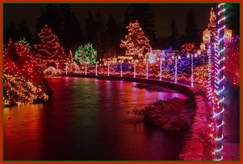 christmas in vancouver quot festival of lights quot vandusen gar