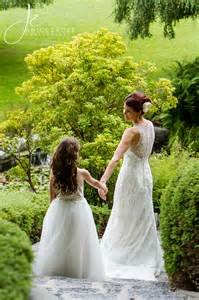 Jcp Home Decor a bride and her flower girl daughter wedding photography