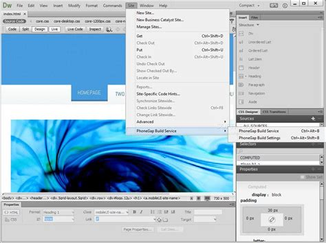 dreamweaver tutorial pdf for beginners adobe dreamweaver free download