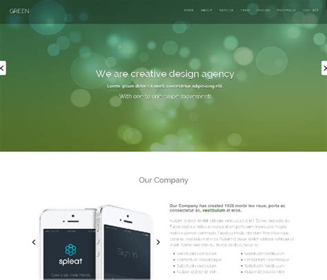 best bootstrap templates 95 best free bootstrap html5 website templates