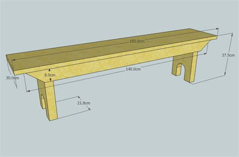 bench pattern diy 5 board bench plans wooden pdf undersized plywood