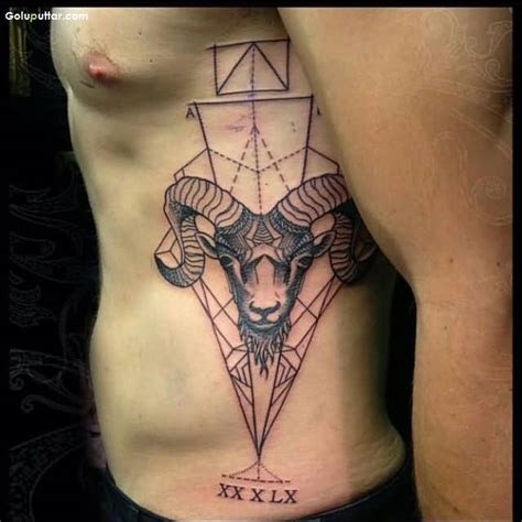 aries men tattoos