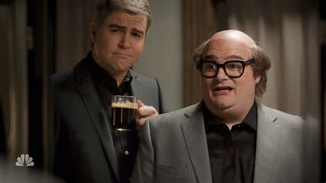 nespresso commercial actress with danny devito watch snl spoof george clooney s nespresso ad caign eater