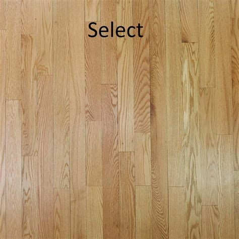 "Unfinished Solid Red Oak 3/4""   PC Hardwood Floors"