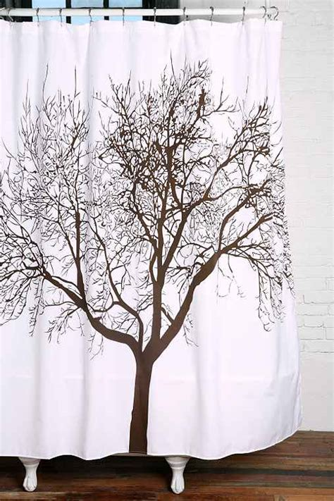 Shower Curtains With Trees Tree Shower Curtain Outfitters