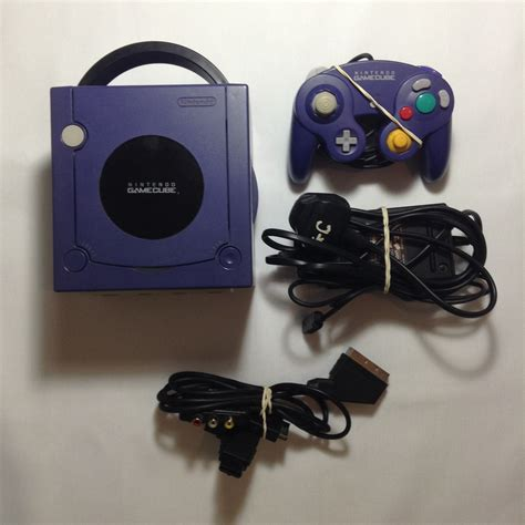 console gamecube nintendo gamecube console purple retroplayers