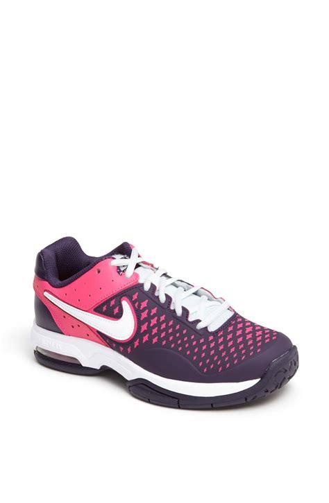advantage shoes nike air cage advantage tennis shoe in purple purple