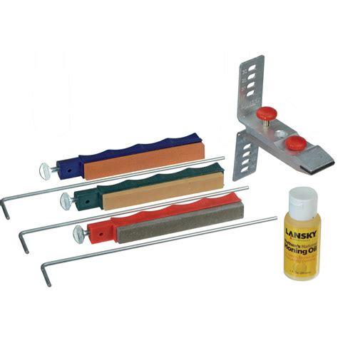 lansky sharpener lansky standard 3 system precision knife sharpening