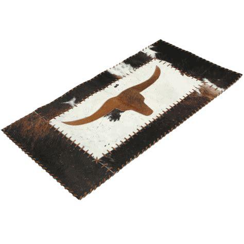Longhorn Rug southwest rugs longhorn cowhide rug lone western decor
