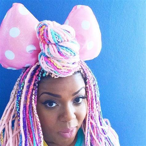 hair style with color yarn 21 best images about yarn braids on pinterest bobs