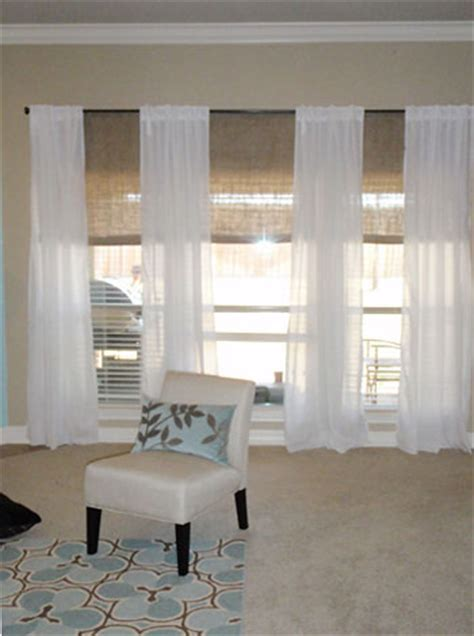 curtains or blinds in living room blayne s second design dilemma solved