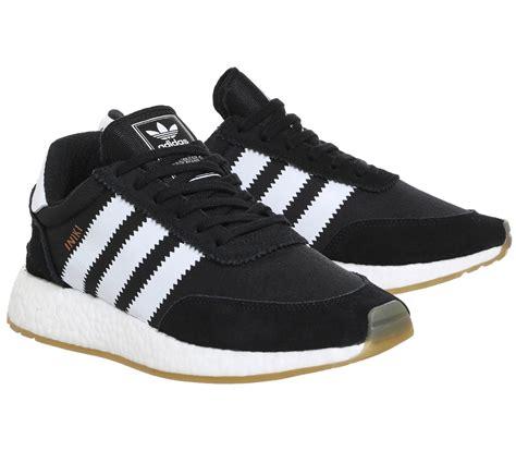 mens adidas iniki runners black white trainers shoes ebay