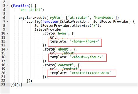 angular js ui router templates are not loading