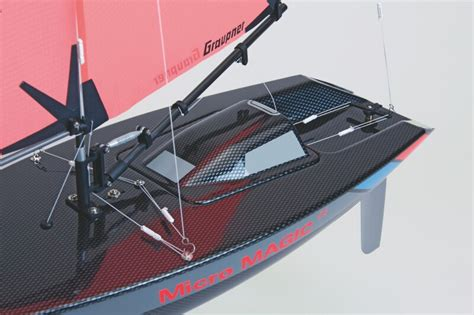 micro magic rc boat graupner micro magic carbon edition racing sailing boat