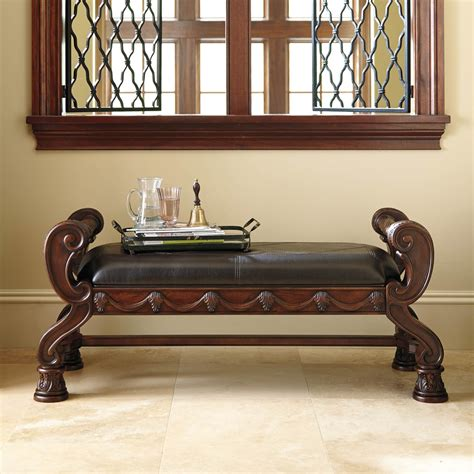 ashley furniture north shore bench ashley north shore large upholstered bench benches