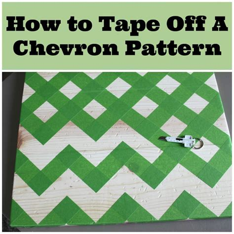 2 crafty 4 my skirt how to tape off a chevron pattern