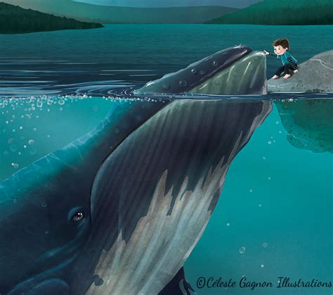 the boy and the whale books elliott and the whale celeste gagnon illustrations