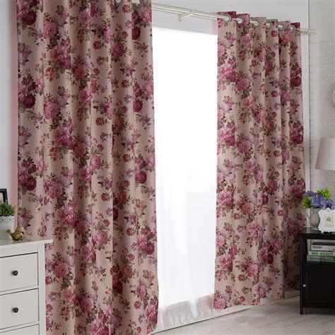 ready made drapes and curtains ready made curtains and drapes of typical floral country style