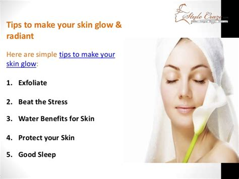 A Few Tips To Get Your Skin In Tip Top Shape by Tips For Glowing Skin