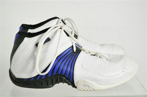 basketball shoes size 8 and1 white blue leather basketball shoes size 8 ebay