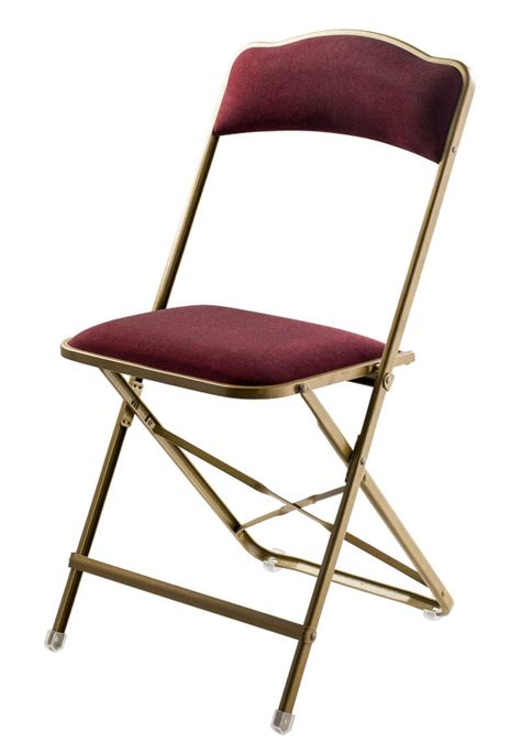 fritz style folding chair  gold frame folding chairs chairs direct seating