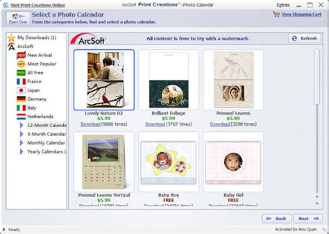 Calendar Software How To Make A Photo Calendar With Calendar Software For