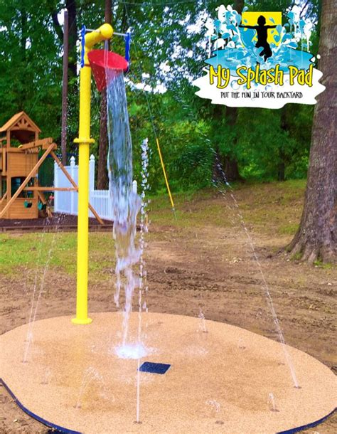 playground padding for backyard 1000 ideas about backyard splash pad on pinterest