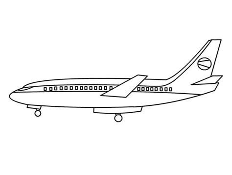 big jet coloring pages print download the sophisticated transportation of