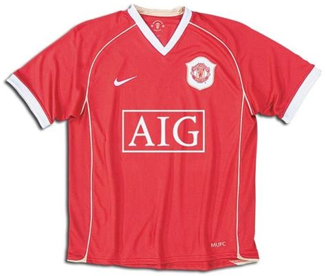 2006 2007 Manchester United Home Original Jersey Size L Ronaldo 7 manchester united jerseys 2006 2007 and white home jersey picture
