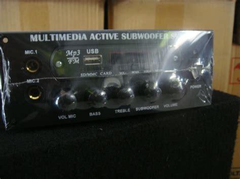 Power Lifier Rakitan Murah jual power lifier speaker aktif usb mp3 radio player murah berkualitas galaxyaudio