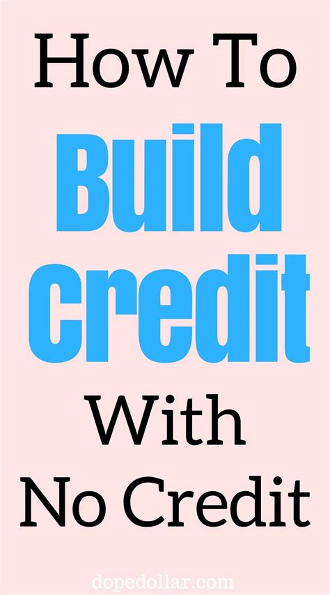 How Do You Build Credit When You Have No Credit History