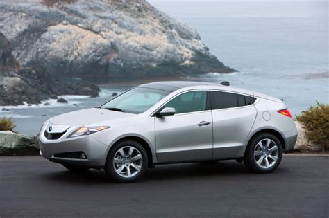 2010 acura zdx debuted at orange county auto show