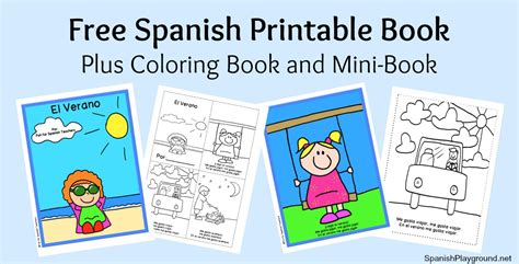 free spanish books for kids printable coloring mini books 84 best coloring for corbo