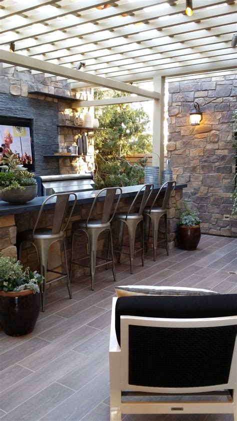 outdoor backyard bar 23 creative outdoor wet bar design ideas