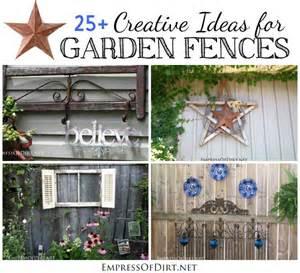 Creative Garden Fence Ideas 25 Creative Ideas For Garden Fences